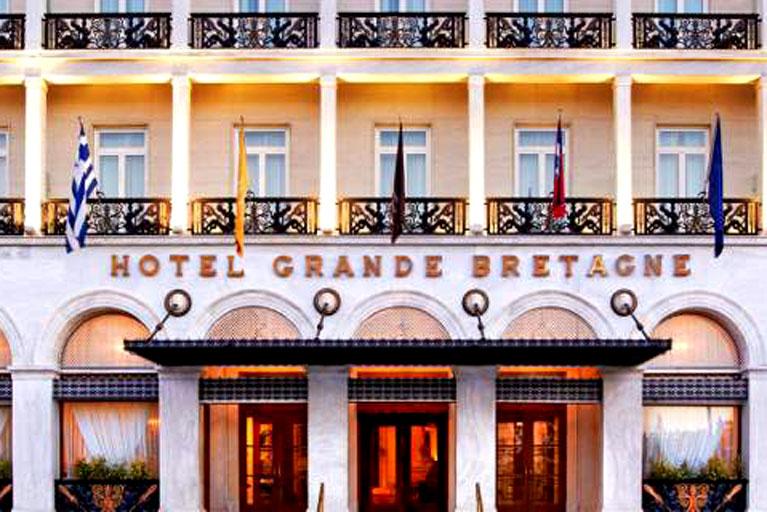 Hotel Grande Bretagne in Athens Named Among World's Most Elegant Hotels
