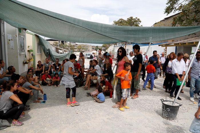 Ehrenamtliche auf Lesbos erhalten den Nansen-Flüchtlingspreis