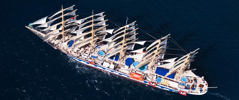 Στο λιμάνι της Σκοπέλου το μεγαλύτερο ιστιοφόρο του κόσμου
