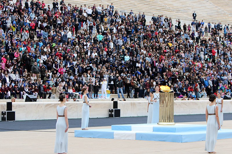 Olympic Torch Handed Over to Pyoengchang for Winter Games