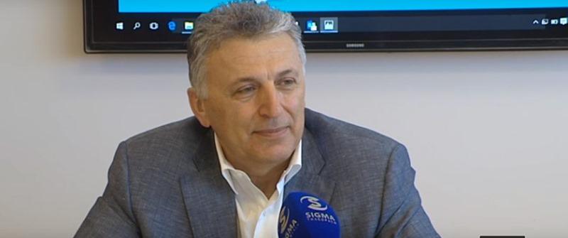 Борис Музенидис дал интервью на кипрском телевидении