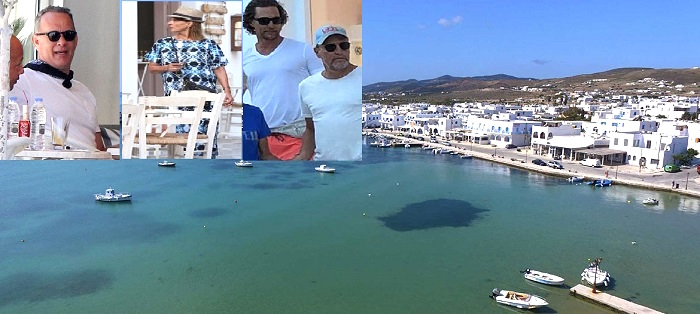 Why Do Hollywood Stars Flock to Antiparos Every Summer?