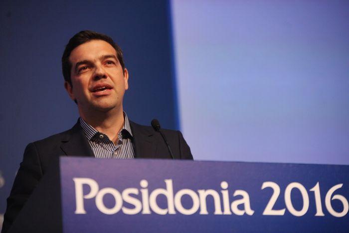 """Schifffahrtsausstellung """"Posidonia"""" in Athen eröffnet"""
