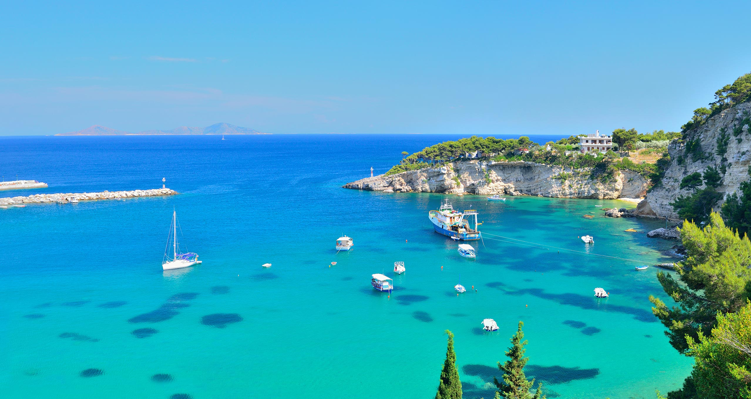 The Greek island Alonnisos is acknowledged as one of the best resorts of eco-tourism in the world