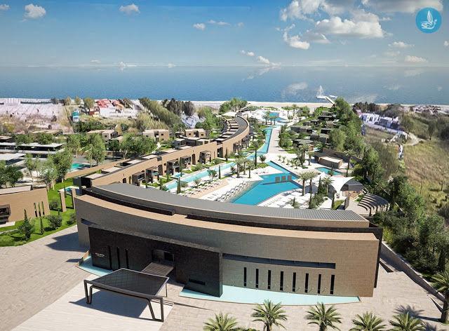 Новый отель на Родосе