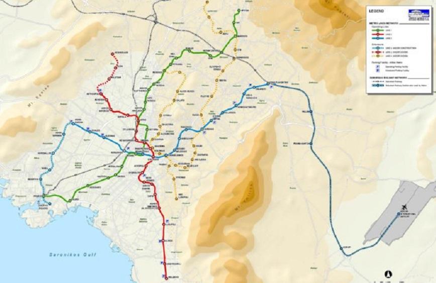 Новые станции метро в Афинах