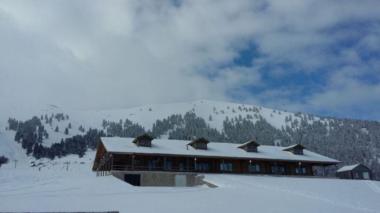 Гірськолижні курорти Калавріти з висоти пташиного польоту