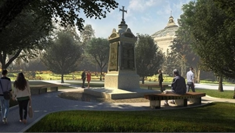 Открылся первый памятник Греческому легиону