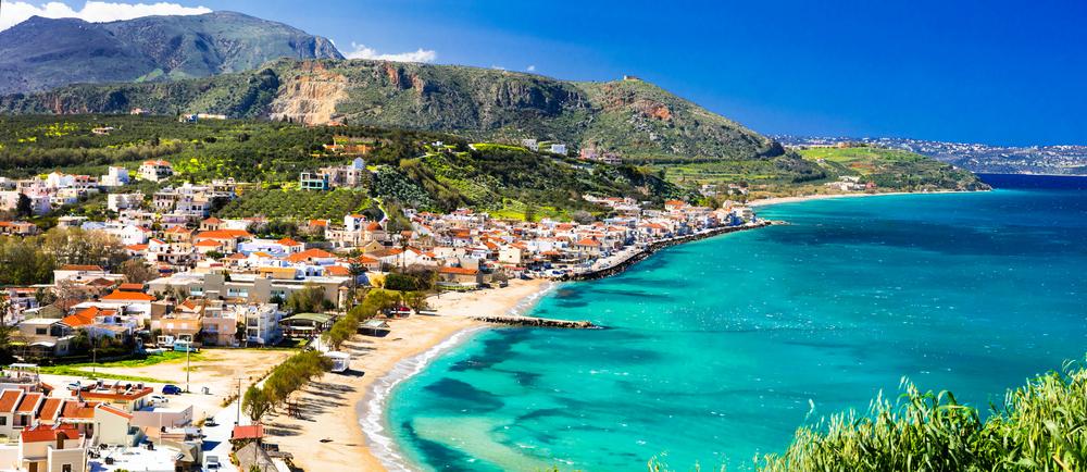 Старинное поселение на Крите