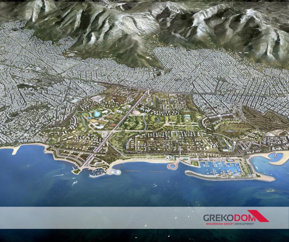 Η Grekodom Development θα συμμετάσχει στο πρόγραμμα του Ελληνικού