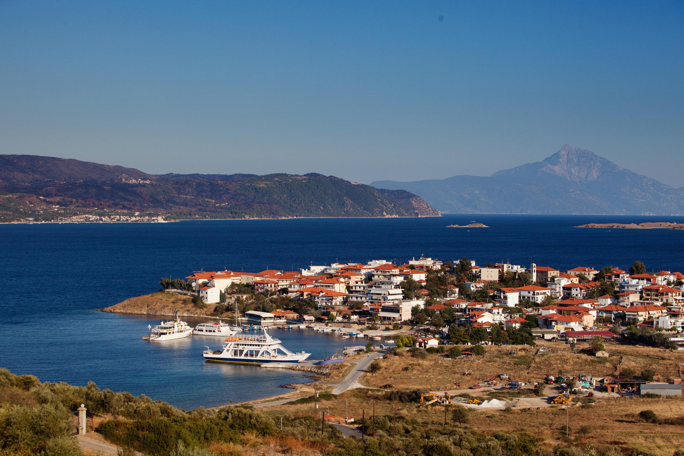 Амульяни - скрытый рай на полуострове Халкидики
