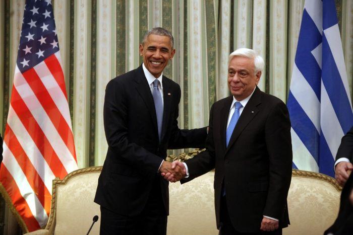 Obama in Athen: Hoffnung auf Botschaft für Schuldenschnitt