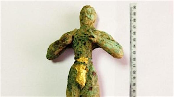 Minoan-Era Kouros Found in Heraklion Valued at 1.3 Million