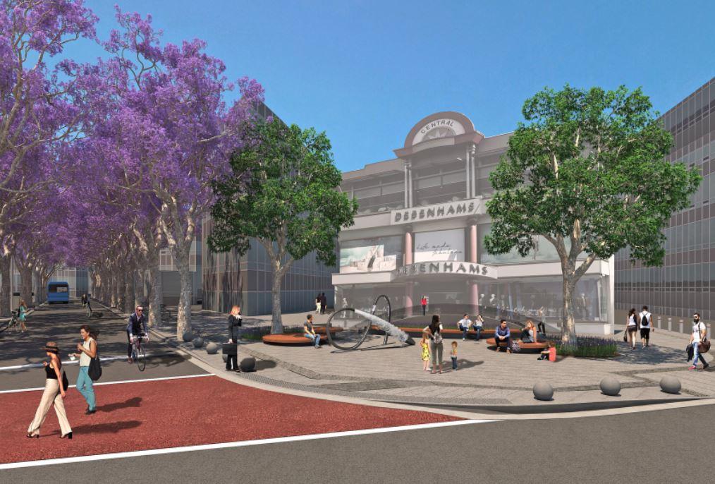 У центрі Нікосії модернізують проспект Макаріоса