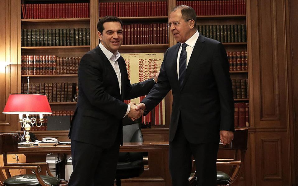 Russian Foreign Min Reiterates Prospects for Greece-Russia Cooperation on Energy