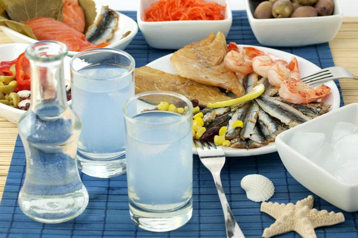 Узо - национальный напиток Греции
