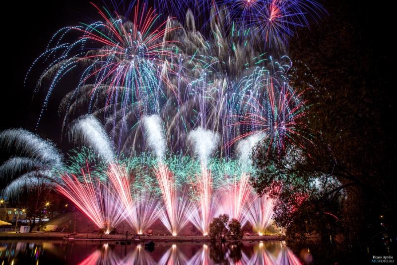 Les grecs ont de nouveau gagné le championnat du monde des feux d'artifice