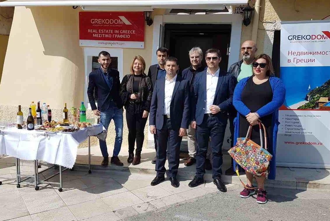 Открытие нового офиса на острове Корфу!