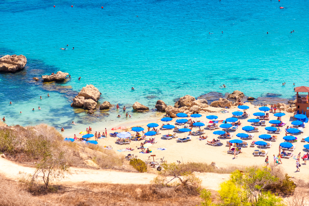 Cyprus takes the third place in the Mediterranean by the number of beach hotels