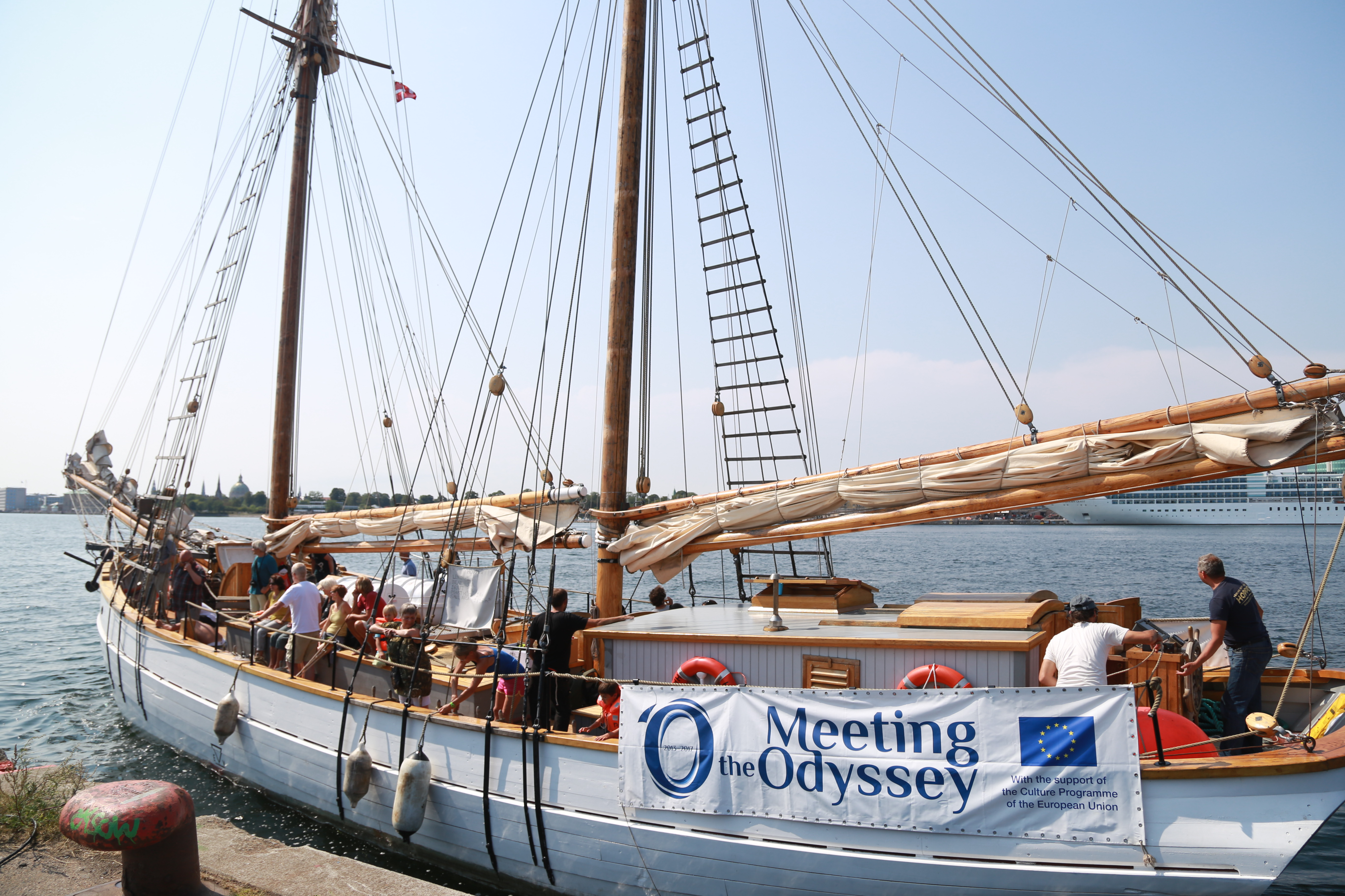 Meeting the Odyssey: All Aboard the Culture Ship