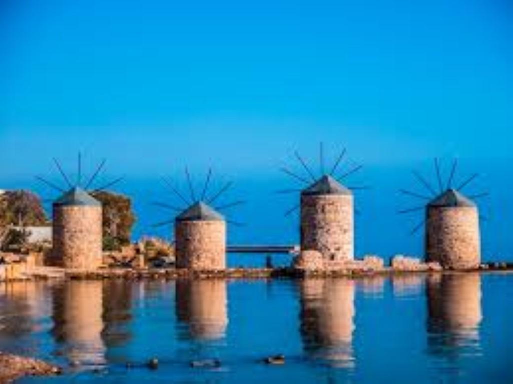 Die mittelalterlichen Dörfer von Chios
