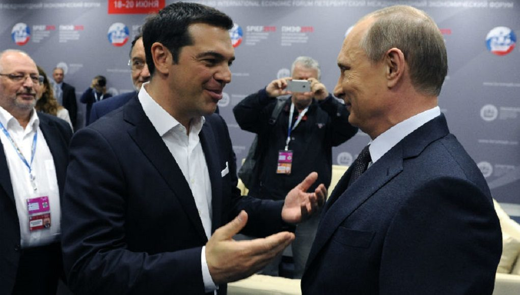 Putin Invites Greek PM to Russia