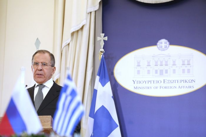 Lawrow in Athen: Ausbau der griechisch-russischen Kooperation