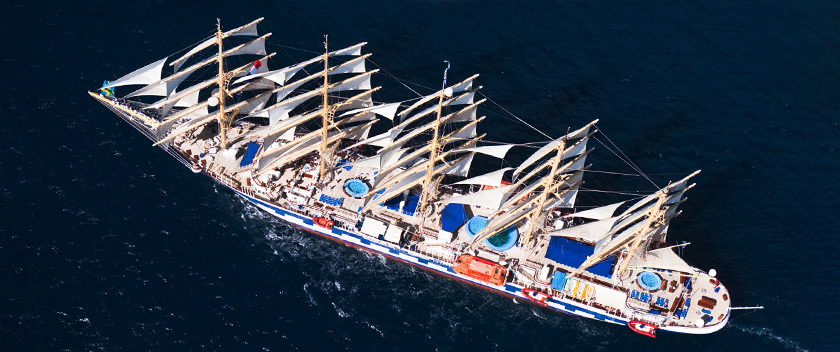 Largest Sailboat in the World in Skopelos