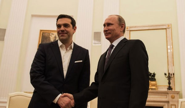 Russian President Vladimir Putin to Visit Greece End of May
