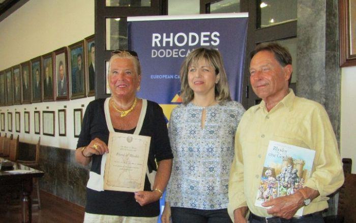 Ehrenauszeichnung: Deutsches Ehepaar zum 65. Mal auf Rhodos