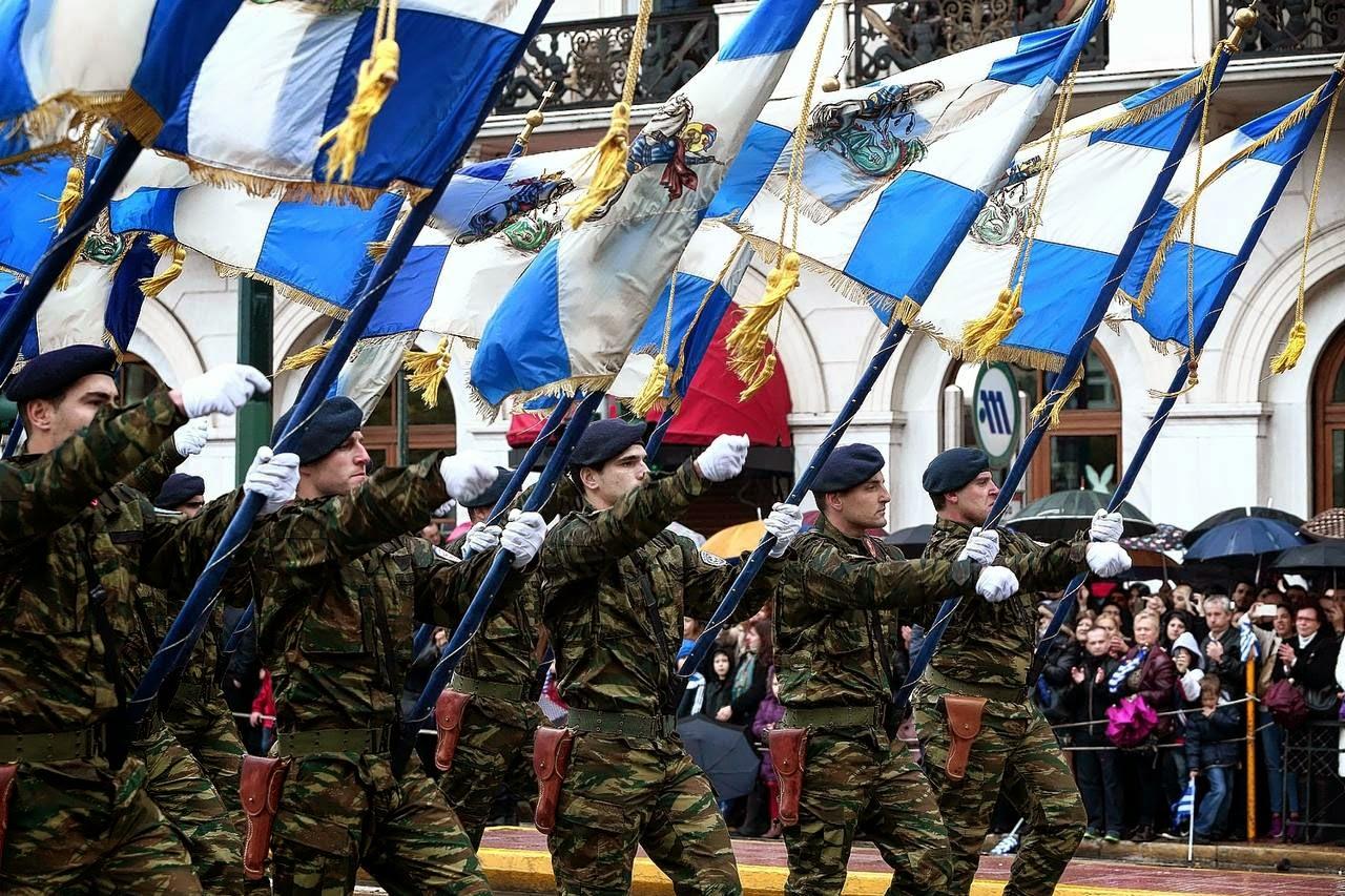 25 марта в Греции – День Независимости и Благовещение