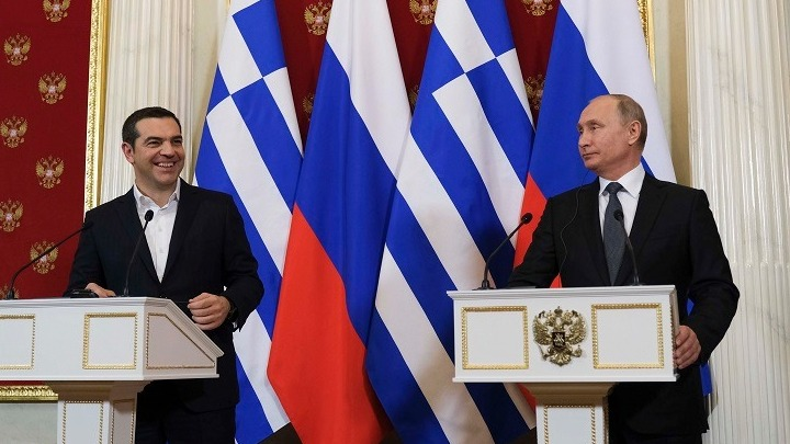 Tsipras Says Greece is Bridge Between Russia and EU