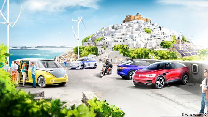 Volkswagen вскоре захватит целый греческий остров