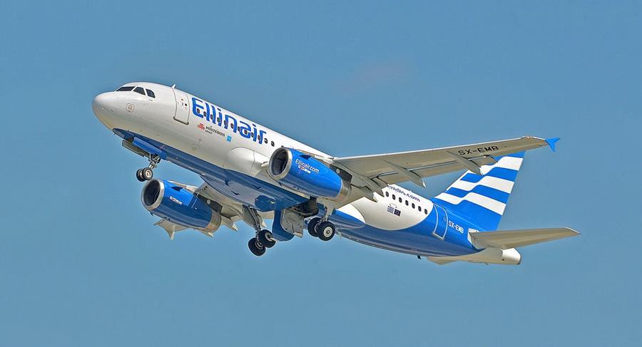 Рейси авіакомпанії Ellinair з'єднали Україну та Грецію