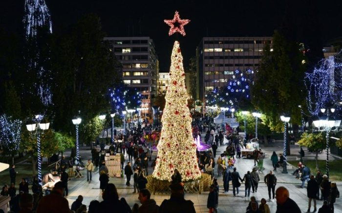 The 7 Best Christmas Destinations in Greece for 2018