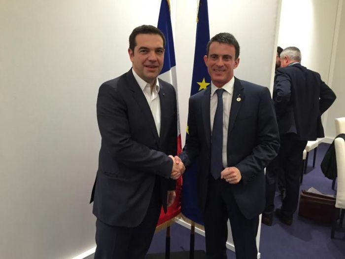 """Frankreichs Premier in Athen: """"Vertrauen zurückgewonnen"""""""