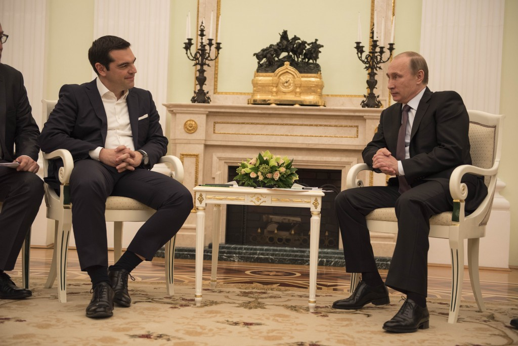 Russian President Putin: 'Greece Important Partner in Europe'