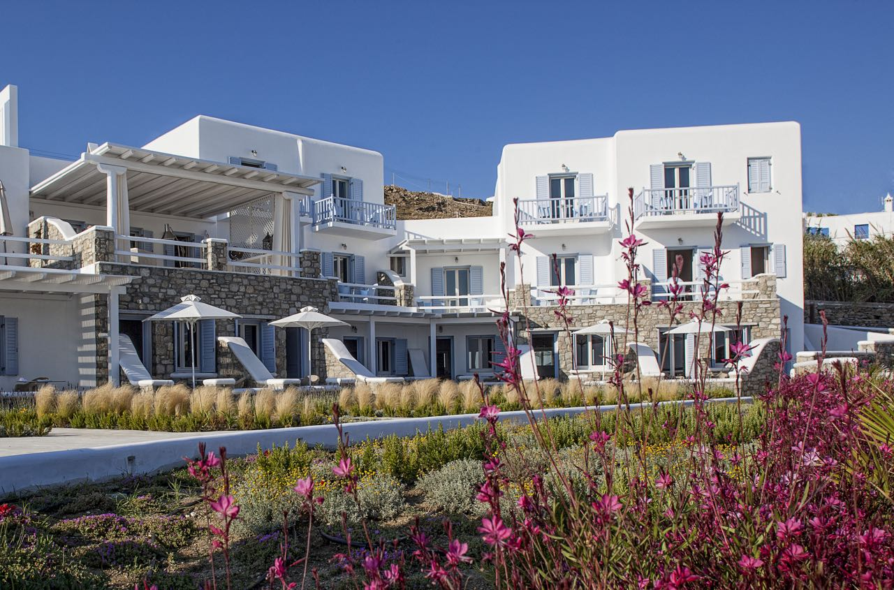 Escape to a Luxury Hotel in Mykonos Inspired by the Greek God Apollo and Greek Hospitality