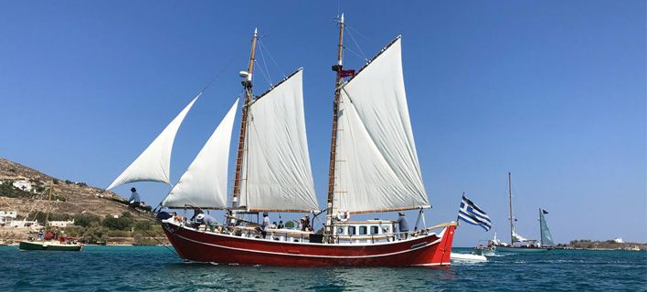 Dozens of Traditional Boats Celebrate Greece's Seafaring Heritage