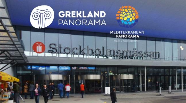 Греция – главный участник выставки в Швеции!