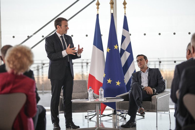 Macron Urges European Investment in Greece to Counterbalance China