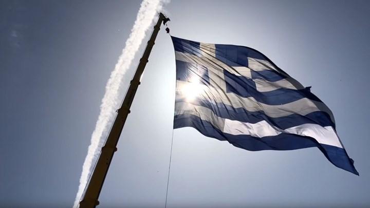 Στην Αλεξανδρούπολη η μεγαλύτερη ελληνική σημαία