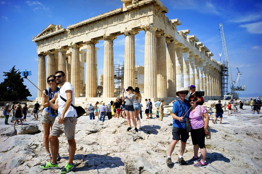 Бронювання турів у Грецію зростає високими темпами