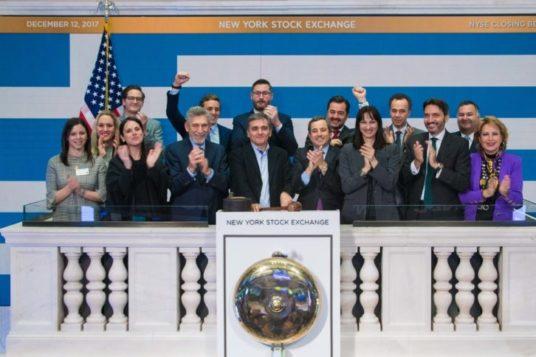 Ημέρα Τιμής προς την Ελλάδα από το Χρηματιστήριο της Νέας Υόρκης