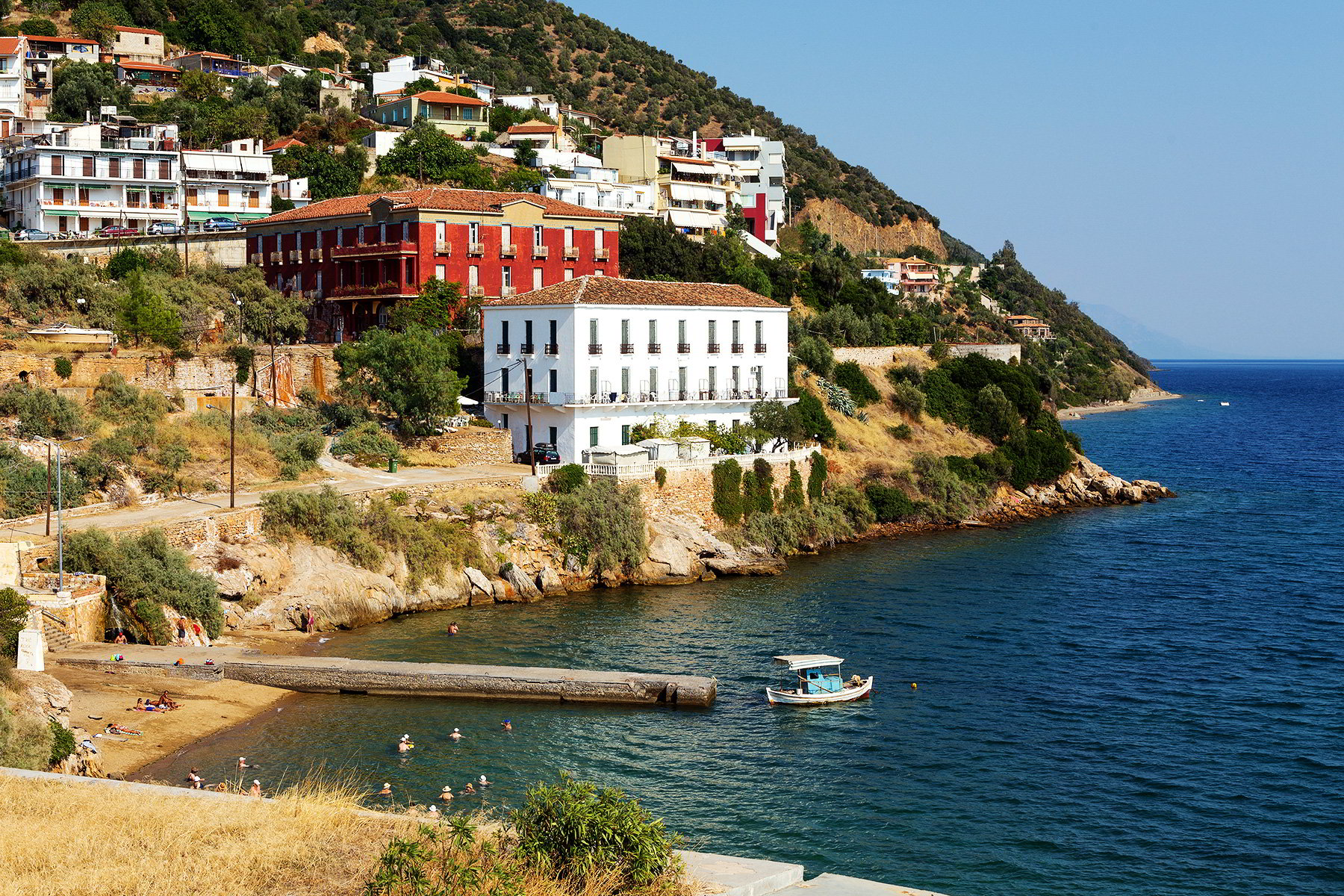 Discover the Spa Town of Loutra Aidipsou, Evia