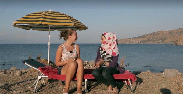 Touristen und Migranten: Griechenland im Schnittpunkt der Reiserouten