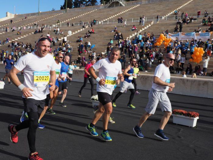 Jubiläumslauf: 50.000 Teilnehmer beim Athener Marathon