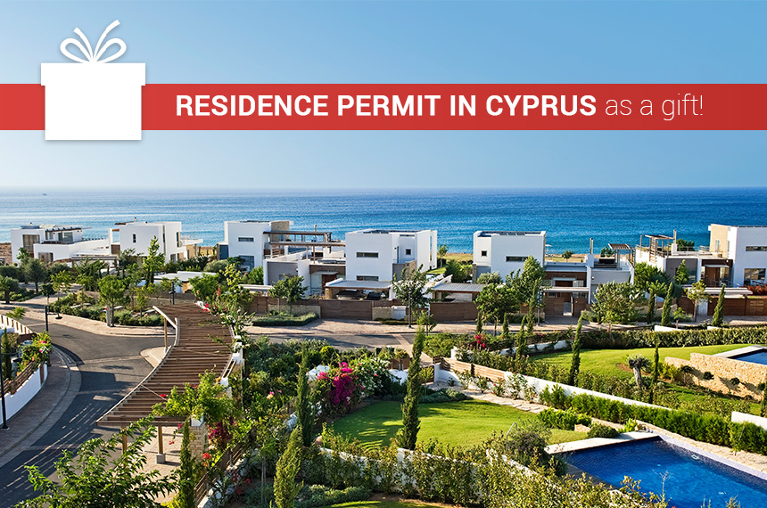 Residence permit in Cyprus as a gift