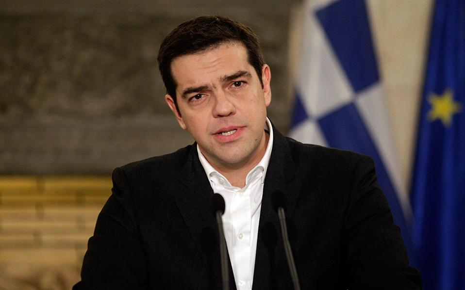 Tsipras Announces Extra Benefit for Low-Income Pensioners, Suspension of VAT Rise for NA Islands