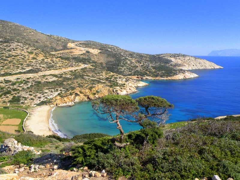 Beaches on Greek Island Donousa Makes Forbes' Top 8 Most Beautiful Beaches in the World 2018